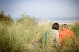 Picknick in de duinen