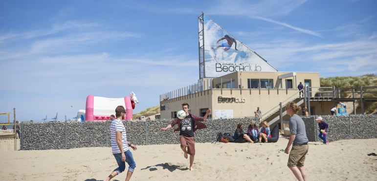Beachvolley in Blankenberge